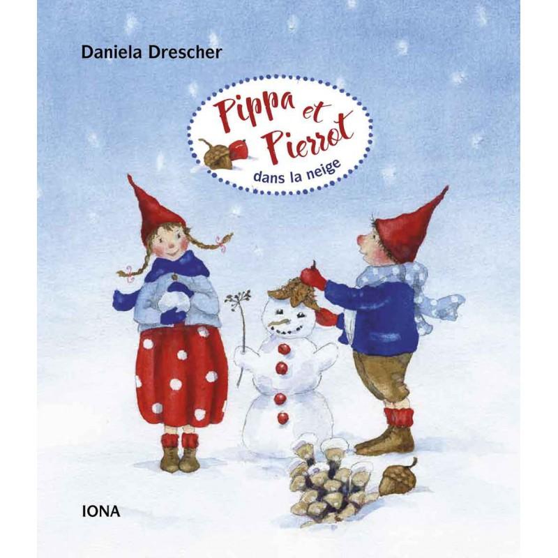 Pippa et Pierrot dans la neige